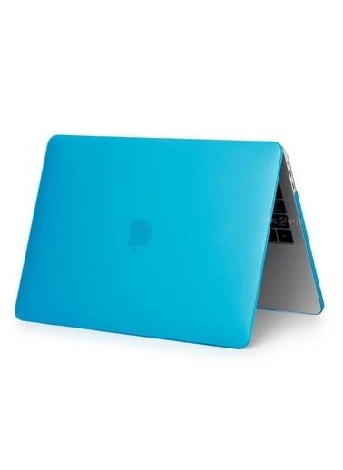 """Mcstorey Yeni MacBook Pro Touchbarlı A1706 A1708 A1989 A2159 13.3"""" Kılıf Kapak Hard case Mat Lacivert"""